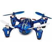 Tekstra Hubsan X4 H107C 720P HD Camera Drone, Beginner Trainer Quadcopter, Cobalt Blue