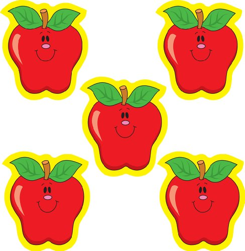 Carson Dellosa Apples Dazzle Stickers (2900)