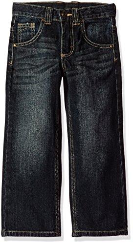 Wrangler Authentics Boys' Relaxed Straight Jean, Blue/black, 16 ()