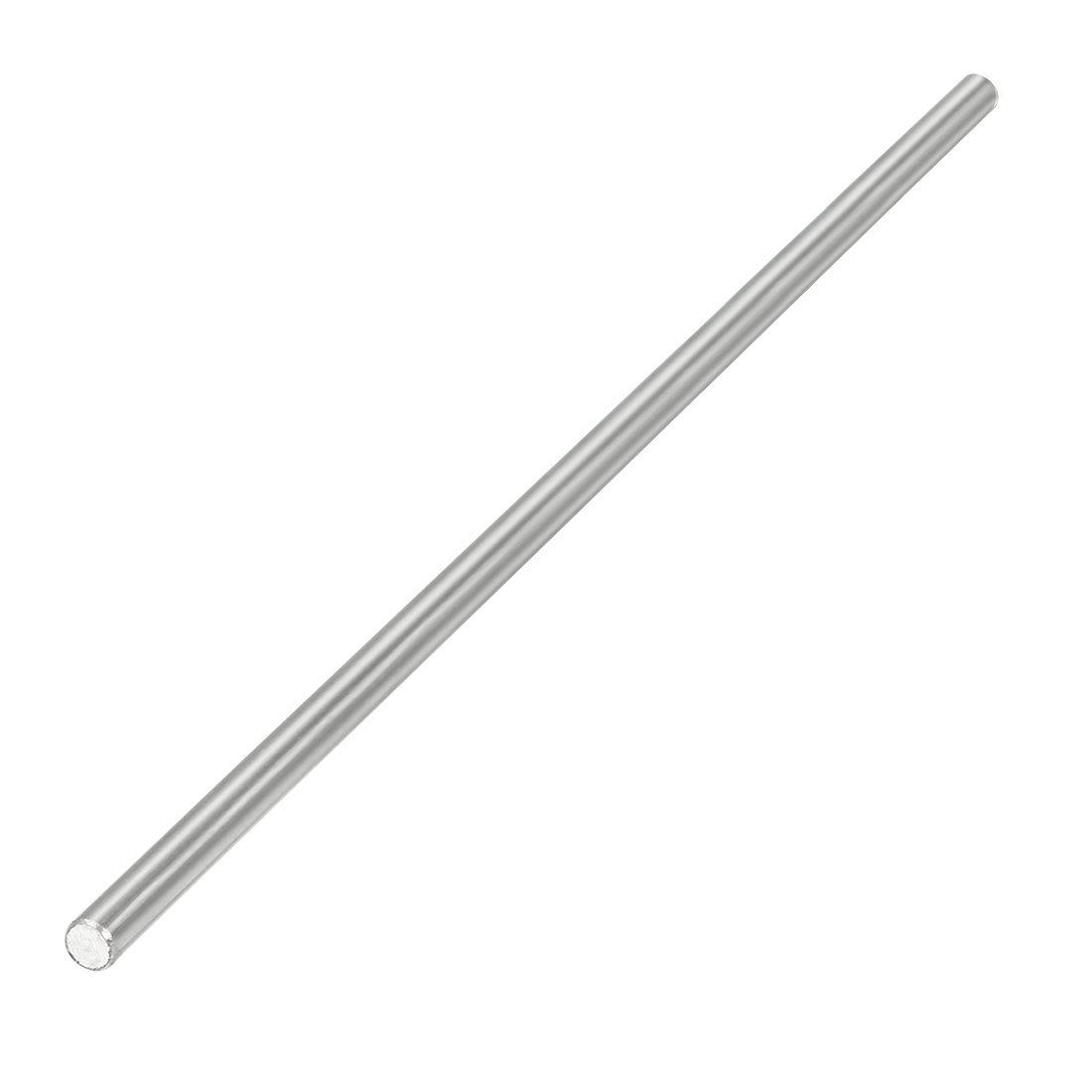 uxcell Round Shaft Rod Axle 304 Stainless Steel 2mm x 110mm for RC Toy Car