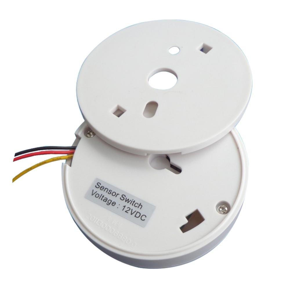 IPOTCH 12v Interruptor De Luz Del Detector De Sensor De Movimiento Pir Eléctrico Led Encendido: Amazon.es: Bricolaje y herramientas