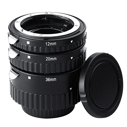 Mcoplus Extnp Auto Focus Macro Extension Tube Set for Nikon AF AF-S DX FX SLR (Extension Tubes Macro Lens)