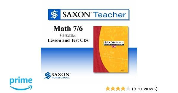 Saxon math 76 homeschool saxon teacher cd rom 4th edition saxon saxon math 76 homeschool saxon teacher cd rom 4th edition saxon publishers 9781602773899 amazon books fandeluxe Images