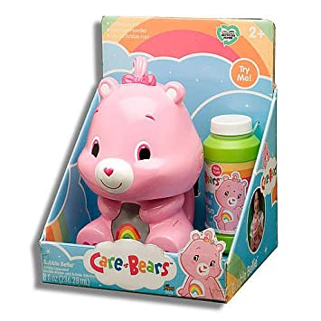 Amazon.com: Care Bear Rainbow Bear Pink Bubble Bellie: Toys & Games