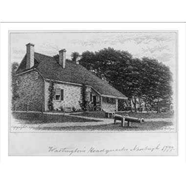 Historic Print (L): Washington's headquarters, Newburgh [N.Y.] 1777