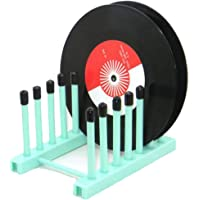Vintage Vinyl Record Storage Holder Stand Cleaning Device Drying Rack Display - with Silicone top(Keep Your Records…