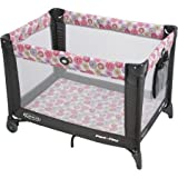 Graco Pack 'N Play Safe Fun Play Yard for Kids Playard on the Go with Folding Feetwith Handy Wheels, Livia