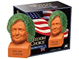 Chia Pet Hillary Clinton, Decorative Pottery Planter, Freedom of Choice, Easy To Do and Fun To Grow, Novelty Gift, Perfect For Any Occasion