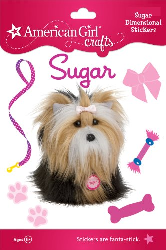 American Girl Crafts Stacked Stickers, Sugar