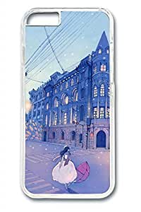 Comic City Streets Girl Slim Soft Cover Diy For SamSung Note 4 Case Cover PC Transparent Cases