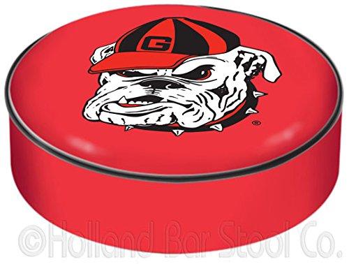 NCAA Georgia Bulldogs Bar Stool Seat Cover