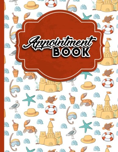 Read Online Appointment Book: 2 Columns Appointment Notepad, Blank Appointment Book, Scheduling Appointment Book, Cute Beach Cover (Volume 34) ebook
