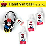 Disney Hand Sanitizer with Classic Mickey and Minnie Mouse Combo Packs (4, Minnie Mouse Combo Pack = 1 Holder + 3 Refills)