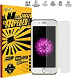 E LV iPhone 6 Glass Screen Protector, iPhone 6 Tempered glass Screen Guard Crystal Clear HD Quality for iPhone 6S