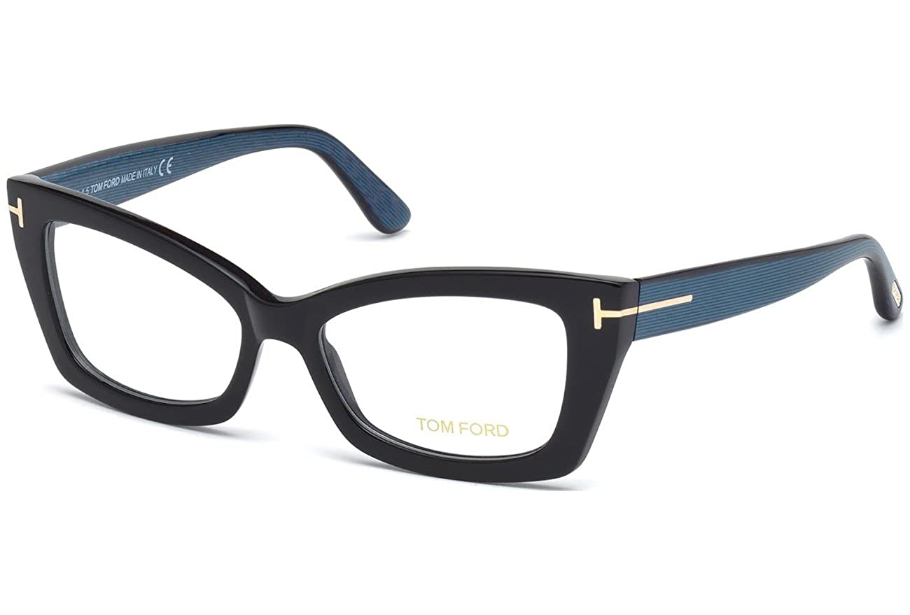 9682deed76 Tom Ford Eyeglasses TF 5363 Eyeglasses 005 Black and multi-color at Amazon  Men s Clothing store