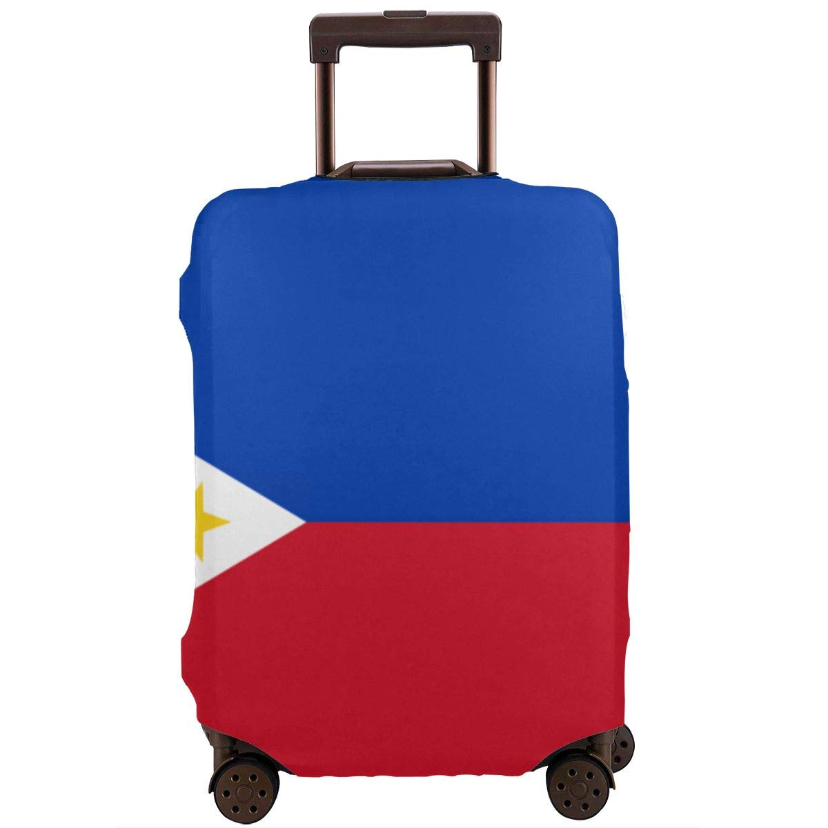 Philippines Flag Sun XL Luggage Cover Elastic Travel Suitcase Protector Fits 18-32 Inch