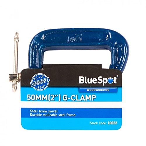 Blue Spot Tools 10022 - Sargento en G (tamañ o: 2pulgadas)