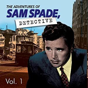 Adventures of Sam Spade Vol. 1 Radio/TV Program