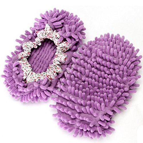 TheWin Slippers Comforable Cleaner Purple