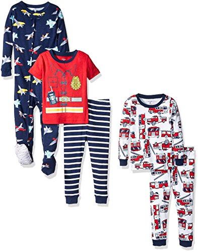 Carters 5 Piece Cotton Snug Fit Pajamas