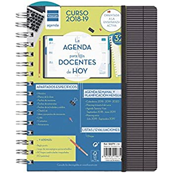 Amazon.com : Finocam Magistral Teacher - Agenda 2018 - 2019 ...