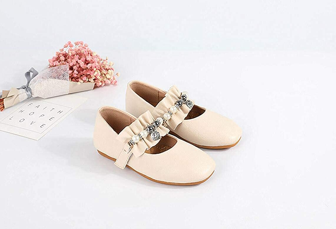Beige 29//11.5 M US Little Kid Little Girl Lok Fu Shoes Baby Toddler Shoes Mary Jane Shoes Dress Shoes