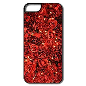 Case For Samsung Galsxy S3 I9300 Cover, Red Roses Lights Samsung Galsxy S3 I9300/White/black Hard Plastic