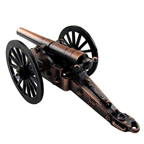 Miniature Diecast Civil War Cannon Pencil Sharpener
