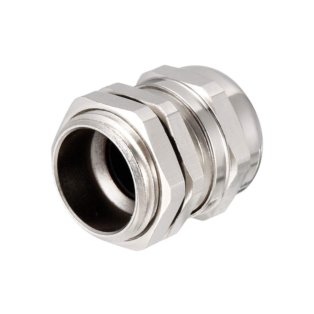 sourcing map 3Pcs M22 Cable Gland Metal Waterproof Connector Wire Glands Joints for 10mm-13mm Dia Range