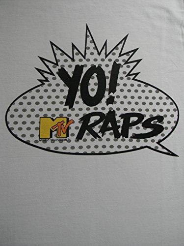 Débardeur Mtv Blanc Manche Homme Raps Sans Acts Yo wR1z4qtS