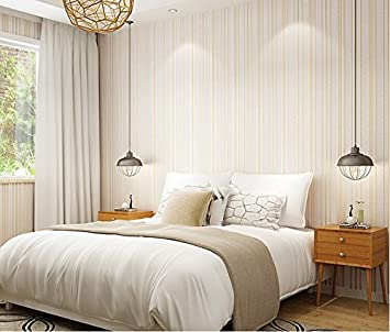 xinjing Einfache Moderne Senkrecht Gestreiften Schlafzimmer ...