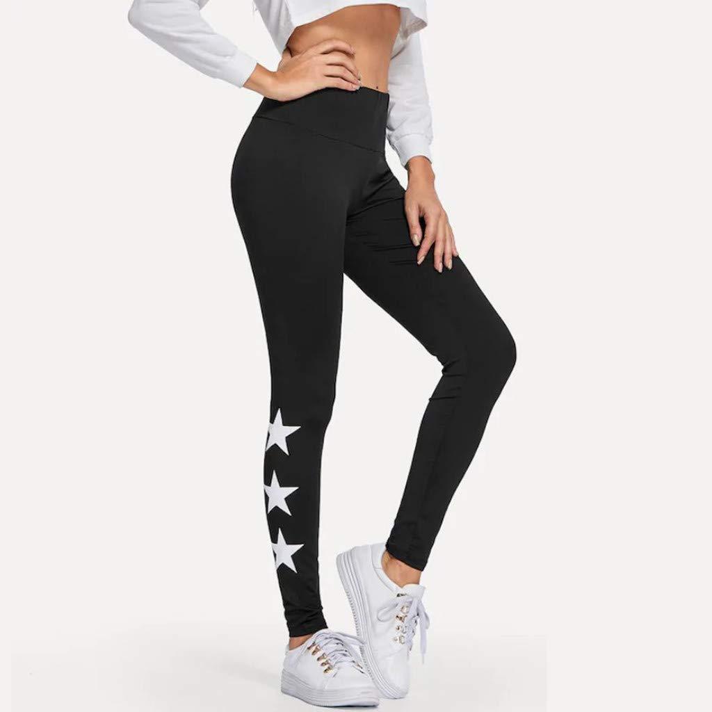 Womens Solid Butt Lift Leggings High Waist Yoga Pants Tummy Control Workout Running 4 Way Stretch Pants