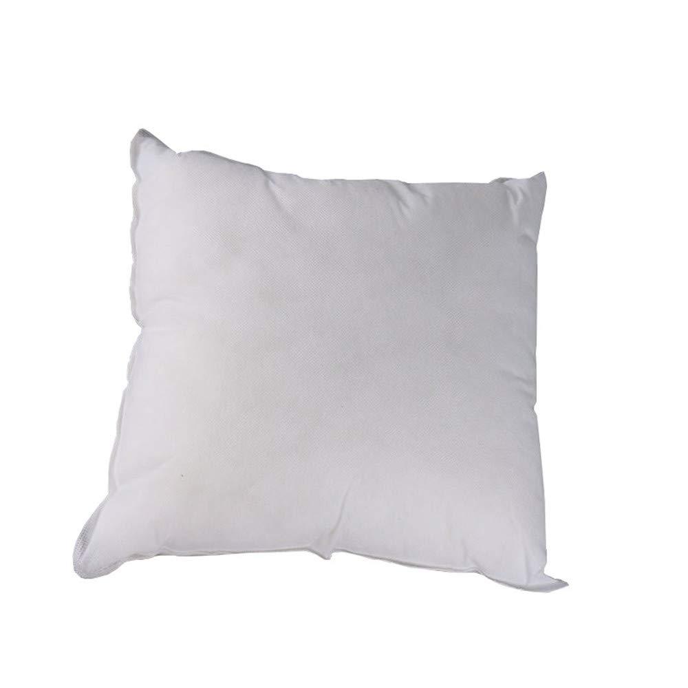 Pillow Core Square 14x14 Cotton Pillow Interior Cushion Filling Rectangular Throw Pillows Insert Filler core Premium Hypoallergenic Pillow Stuffer for Couch Pillows Bed Pillows Floor Pillows (White)