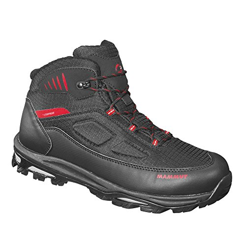 Mammut Runbold Tour Mid WP Men (Backpacking/Hiking Footwear (Mid)), color:black-inferno;size:9 UK / 43 EUR