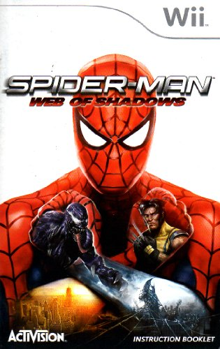 Spider-Man - Web of Shadows Wii Instruction Booklet (Nintendo Wii Manual Only - NO GAME) [Pamphlet only - NO GAME INCLUDED] Nintendo (Spiderman Web Of Shadows Wii)