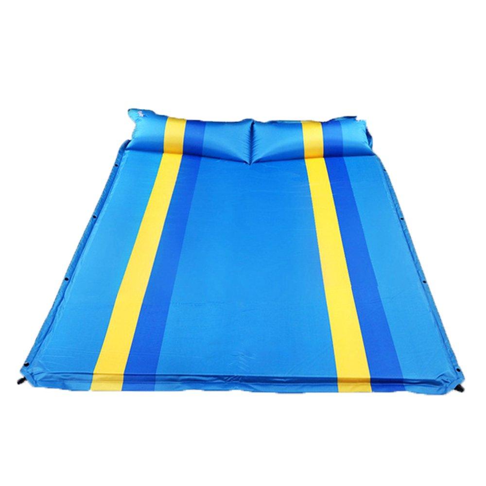 QEL Automatisches aufblasbares Kissen, erweitertes Design, Kissen und Matratzen, 2-in-1 Outdoor Camping Company Schlafen, 192 x 134 x 3 cm