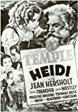 Heidi Poster Movie 11x17 Shirley Temple Jean Hersholt Helen Westley Arthur Treacher