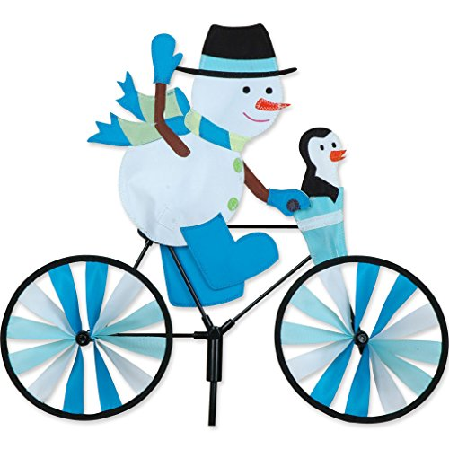 Premier Kites 20 in. Bike Spinner -Snowman