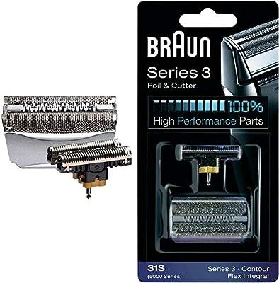 Braun Integral Grey Combi(Cutter & Foil): Amazon.es: Salud y ...