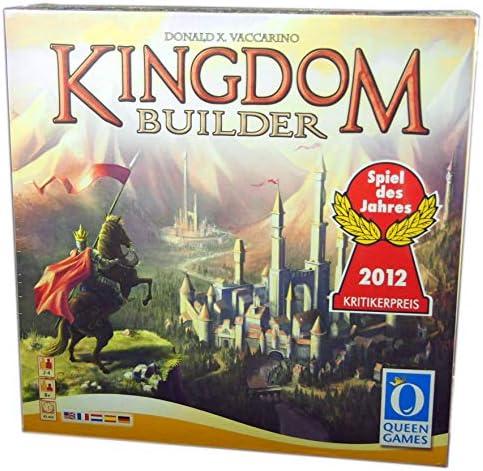 Queen Games 60833 - Juego de mesa Kingdom Builder , color/modelo surtido: Amazon.es: Juguetes y juegos