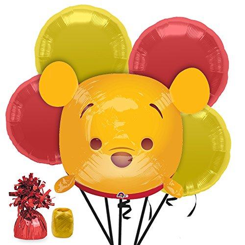 Costume SuperCenter Tsum Tsum Winnie the Pooh Balloon Bouquet Kit
