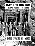 img - for Geology of the Couer D'Alene Mining District of Idaho book / textbook / text book