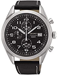 Seiko Chrono SSB271P1 Mens Chronograph Solid Case