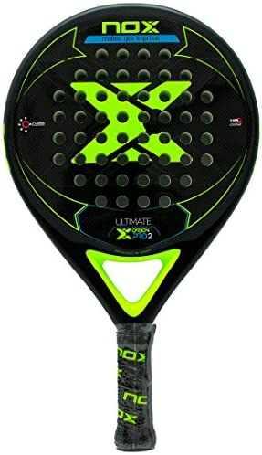 NOX Pala pádel Ultimate Carbon Pro 2 Yellow: Amazon.es: Deportes y ...