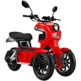 Moto Eléctrica Scooter Doohan iTank Roja