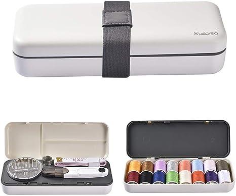 51pcs kit de costura / Set Premium fuentes de costura de 16 colores de múltiples funciones portable Kit de costura costura caja de costura caja de Hogares para Niños, Principiante, Viajes, Emergencia: