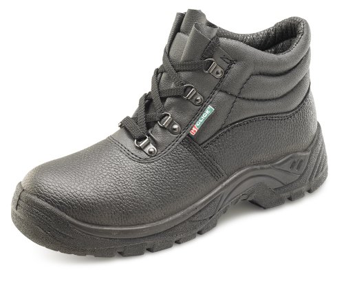 Click Dual Density Chukka D Ring Safety boot Black - Size 36/3