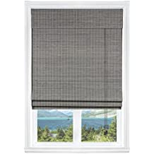 """Calyx Interiors Privacy Grey Wash Bamboo, 24""""W X 54""""H"""