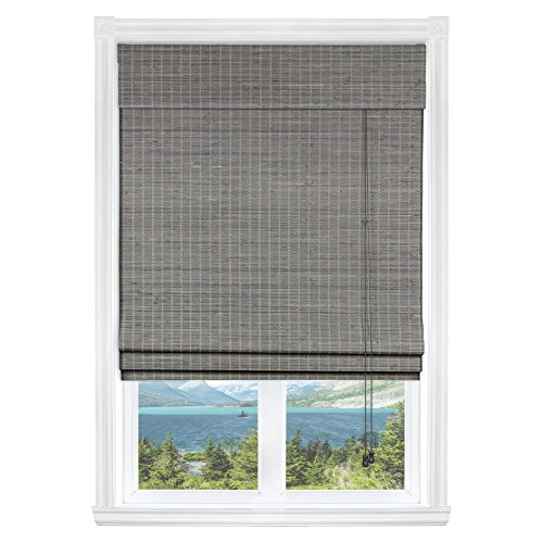 Calyx Interiors Privacy Grey Wash Bamboo, 36