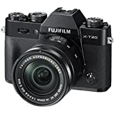 Fujifilm X-T20 Mirrorless Digital Camera w/XC16-50mmF3.5-5.6 OISII Lens - Black (Certified Refurbished)